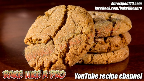 soft-sugar-top-gingerbread-crackle-cookies-recipe-bakelikeapro-youtube