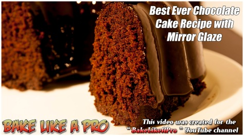 Best Ever MINI Moist Chocolate Cake Recipe With Mirror Glaze